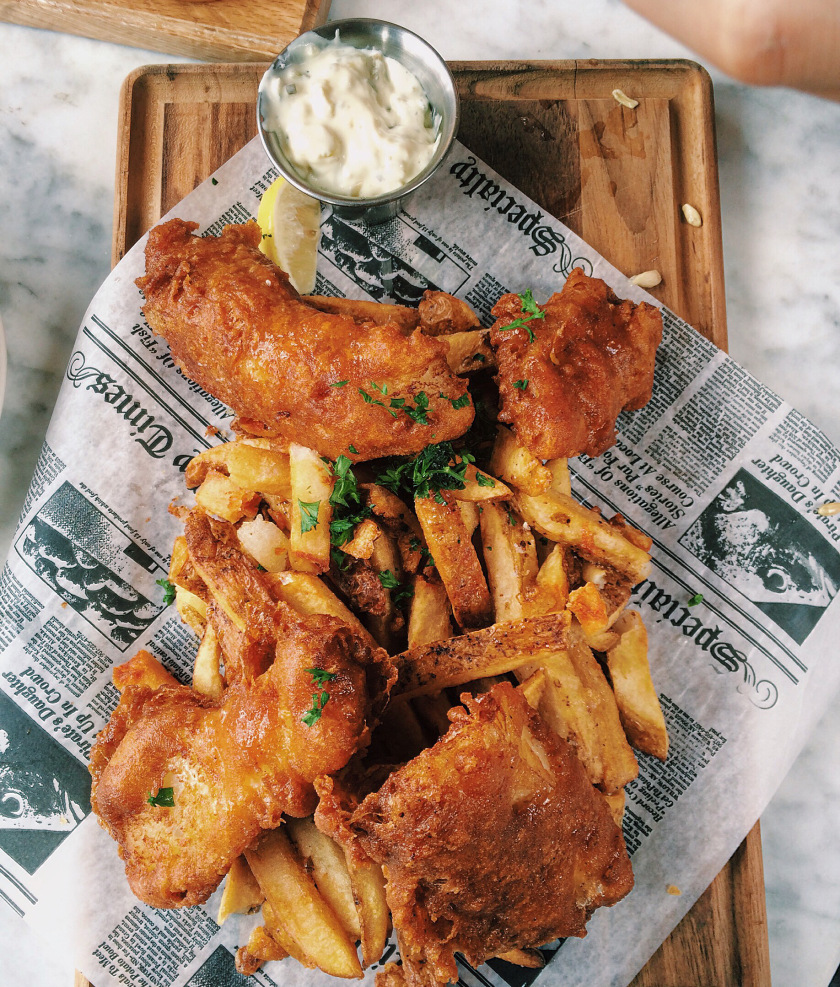 Now we know why fish & chips is a thing