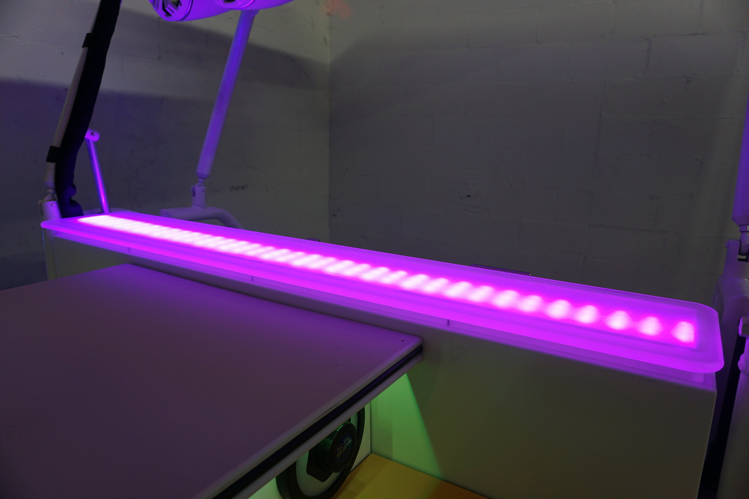 LED Serving shelf which doubles as a great display area