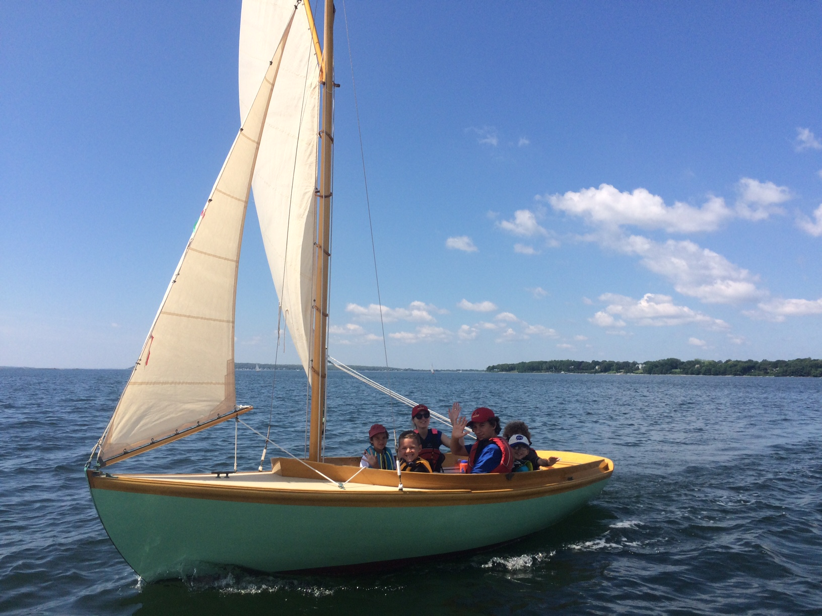 Fundraising for the Future - The mission of the Herreshoff Seamanship Program is to teach the art of seamanship and the principles of sailing, with an emphasis on excellent instruction, as well as the design, beauty, and unique features of these classic vessels.