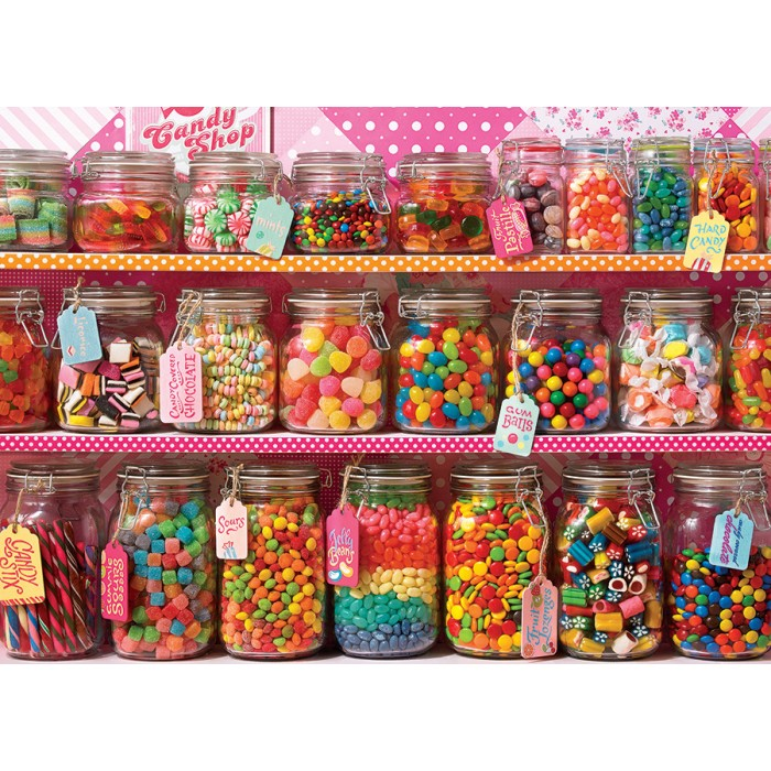 Candy Counter 350 pc Family Puzzle