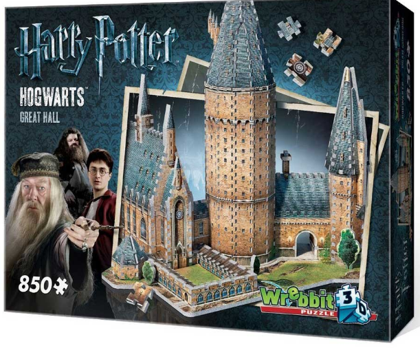 Harry Potter fan? There are dozens of different Potter puzzles out there, both 3D and 2D. Check out this one  here .