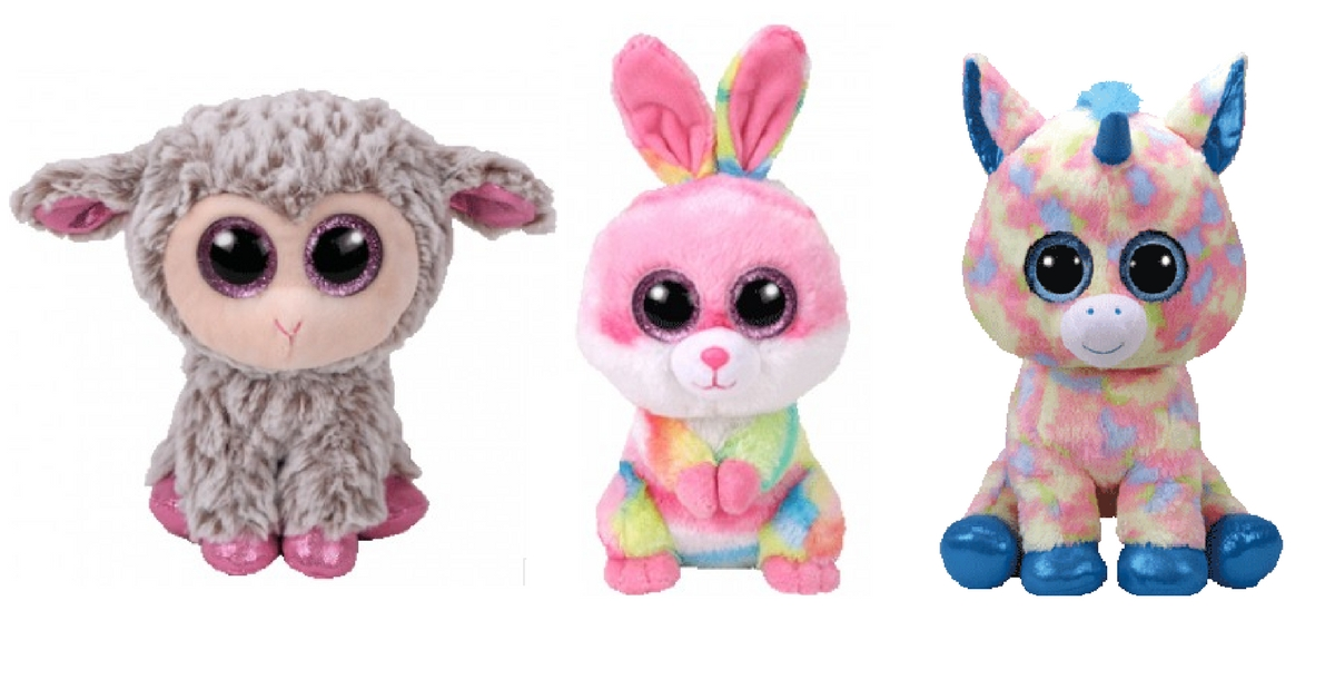 Beanie Boos  look like they were made for Easter baskets!