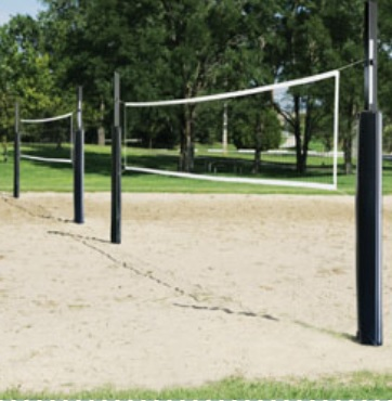 Volleyball   Recreational volleyball net sets and equipment.