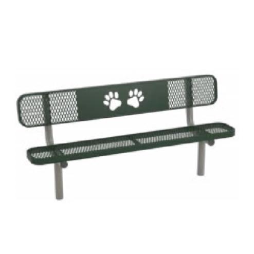Basic Dog Park Bench