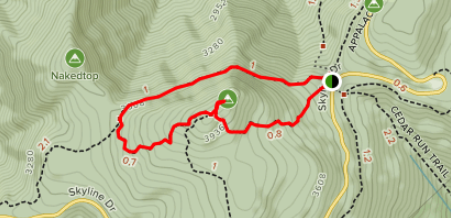 best hiking path and trail on the APPALACHIAN TRAIL : by angeloutdoors.com