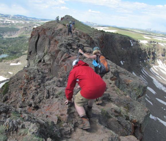 Best colorado hiking trips and trails (Lost lakes - Devil's causeway Loop - Rank #4) for intermediate & beginners.