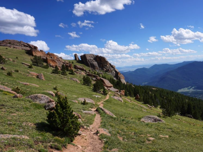 Awesome hiking trails and trips in colorado.