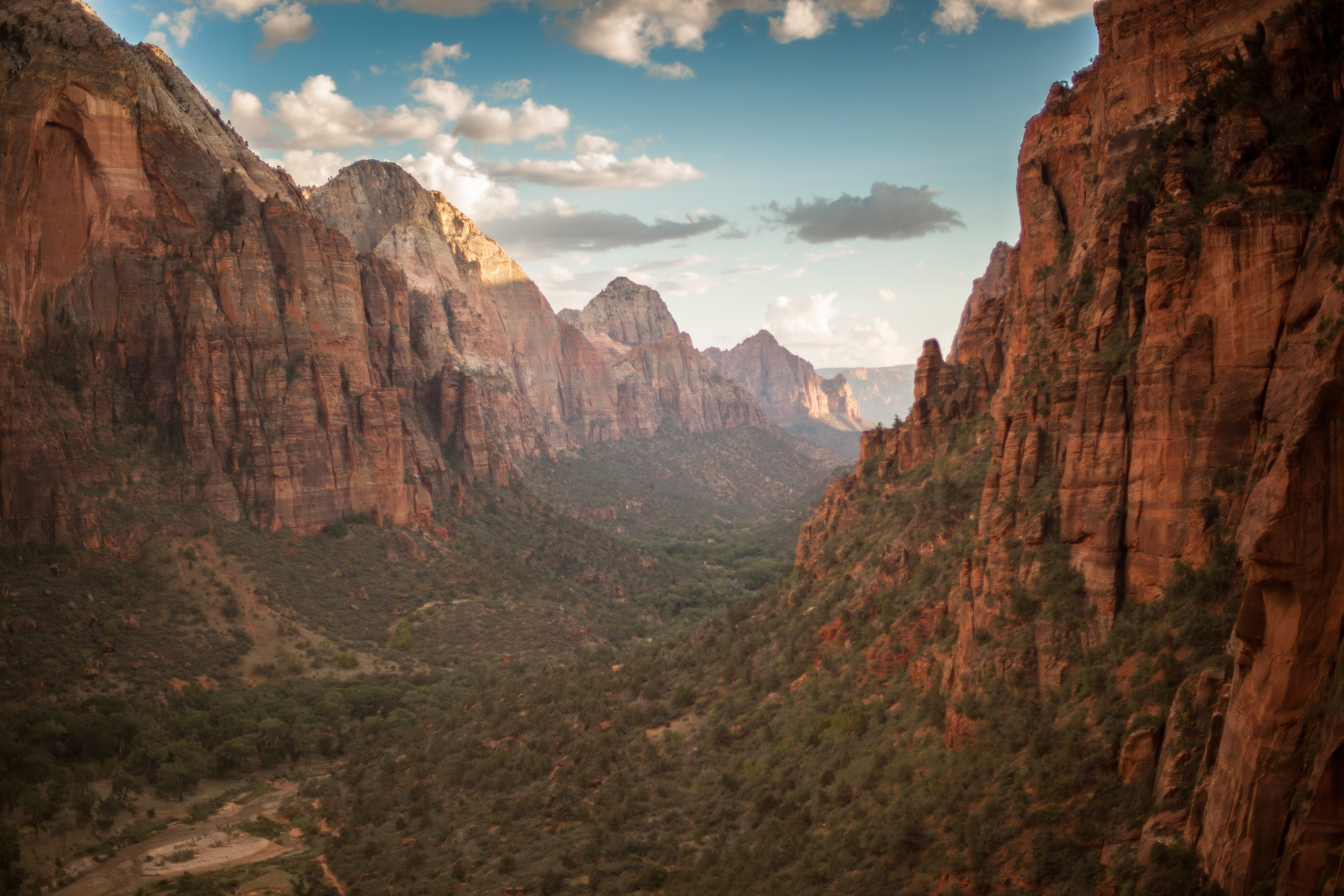 One of utah's best national parks: zion national park.