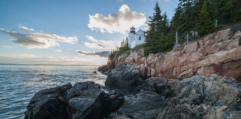 the best national park on the east coast USA : #1 Acadia national park (in state of Maine)