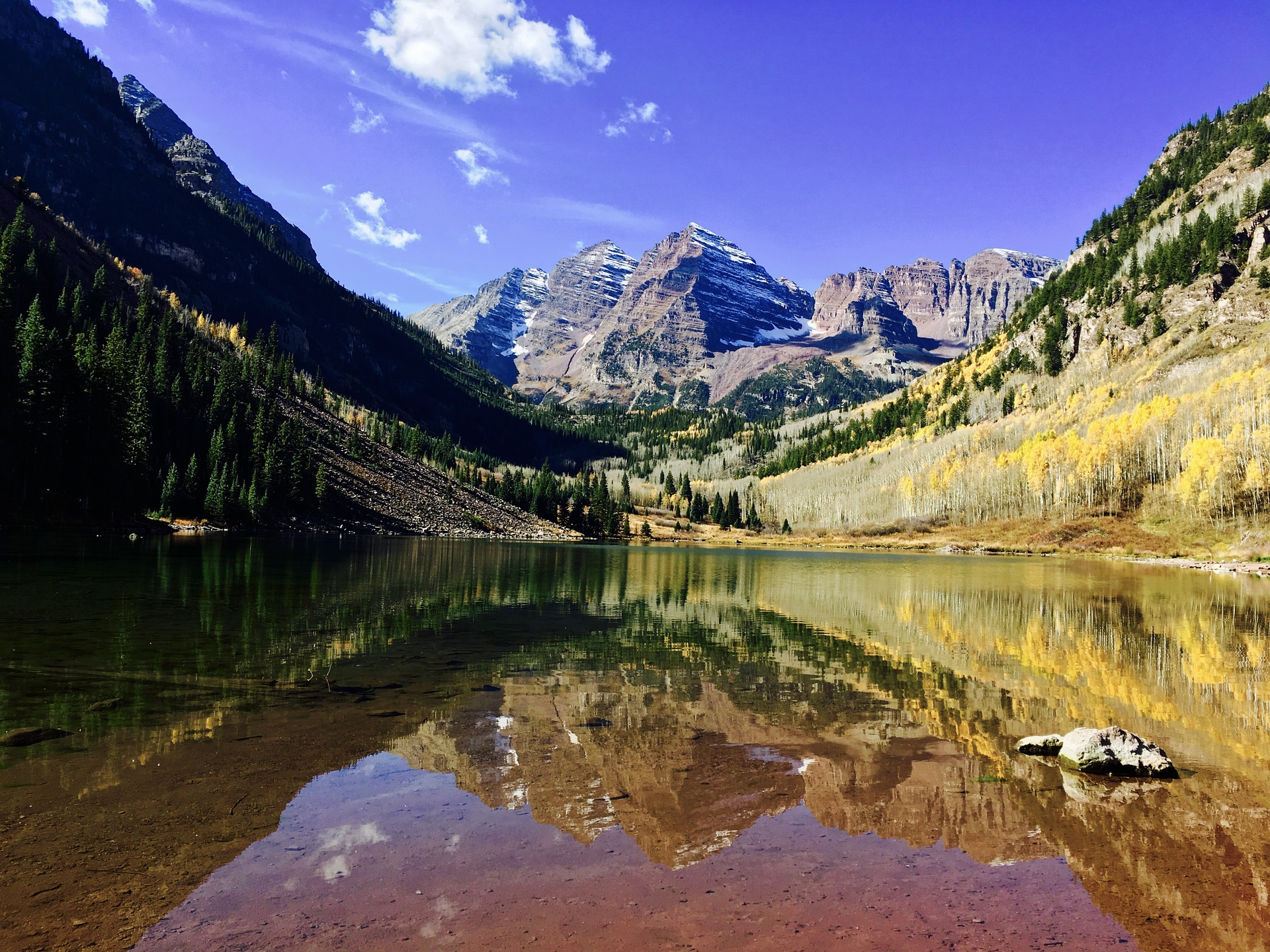 maroon bells is one of the most popular and best hiking trails in colorado