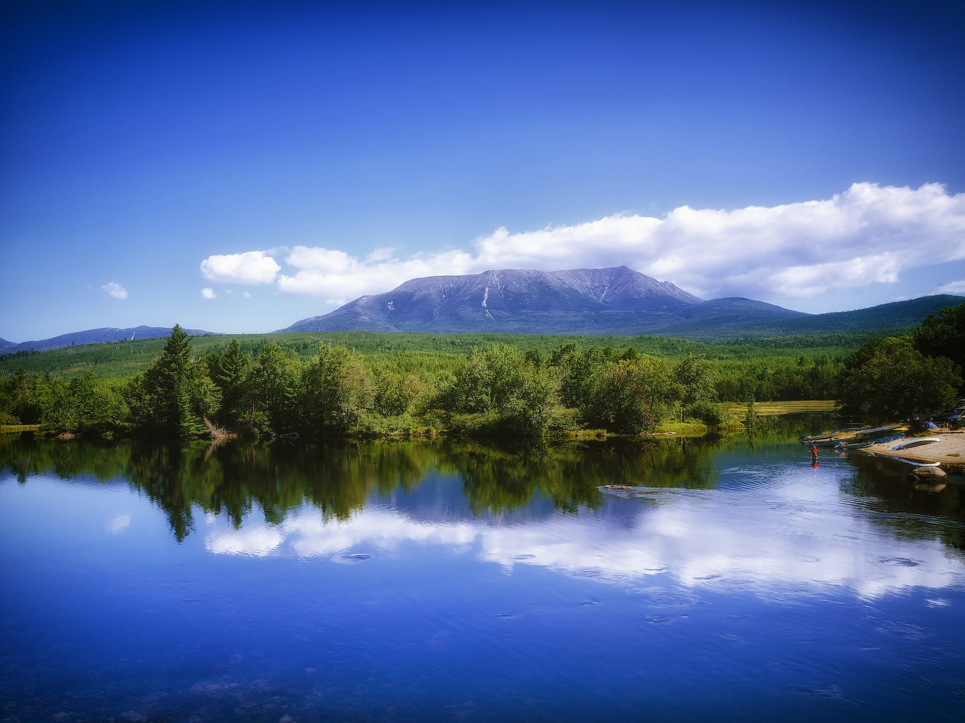 The katahdin loop trail is one of the best hiking trails in america