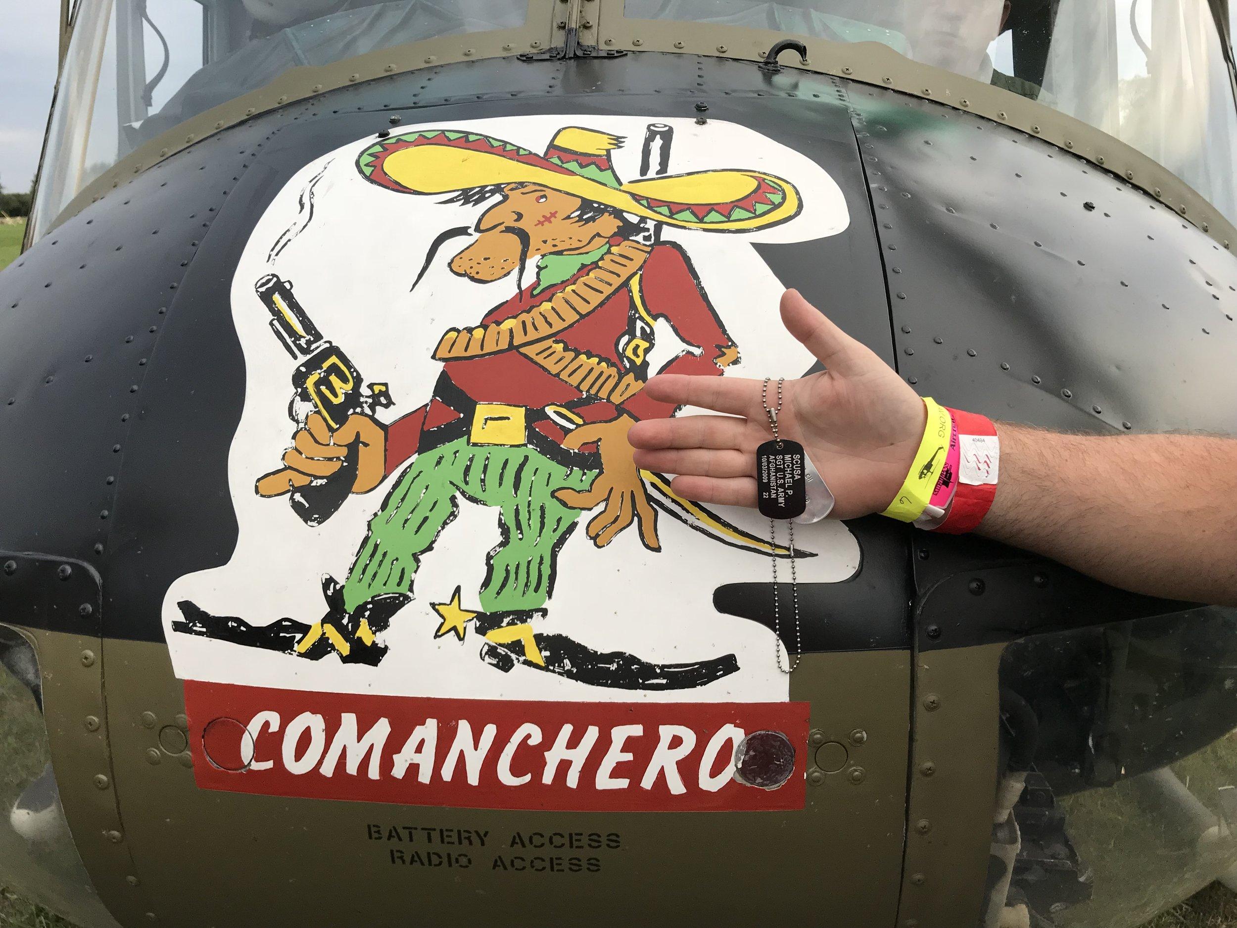 Photo courtesy of Army Aviation Heritage Foundation.