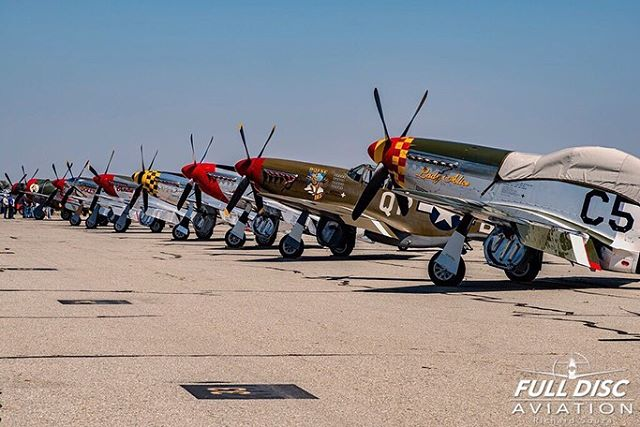 We are covering both coasts this weekend, @zulu_xray_photography and @gravity.images are out west covering the @planesoffame Air Show, just a couple Warbirds for them to see.... •• #planesoffame #chino #warbirds #vintageaviation #flight #wwii #wwiiaviation #p51 #p51mustang #mustang #aviationlovers #planesofinstagram #instaaviation #instagramaviation #avgeek #aviationgeeks #airshow #aviationphotography #fulldiscaviation