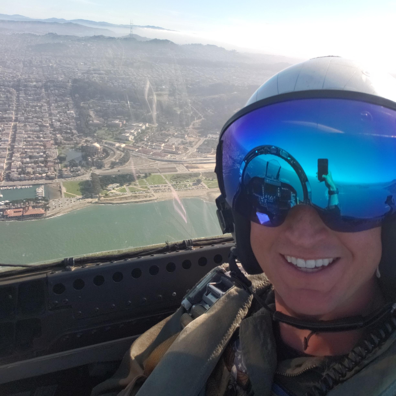 San Francisco selfie - Justin Grofik | @scraps_fighter