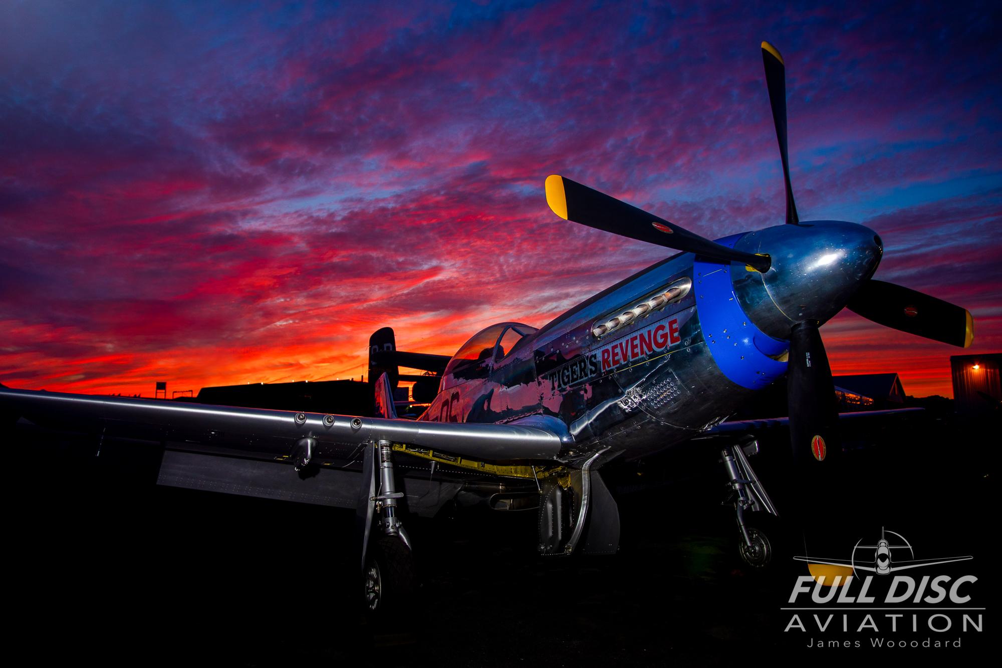 Sunset & Re-enactors -