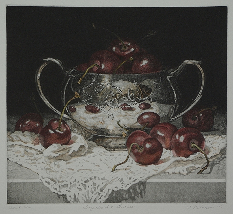 Sugar Bowl and Cherries