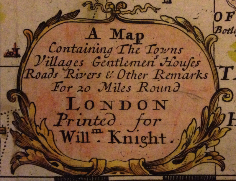 Detail: Knight, W. (1710). Decorated Nameplate.