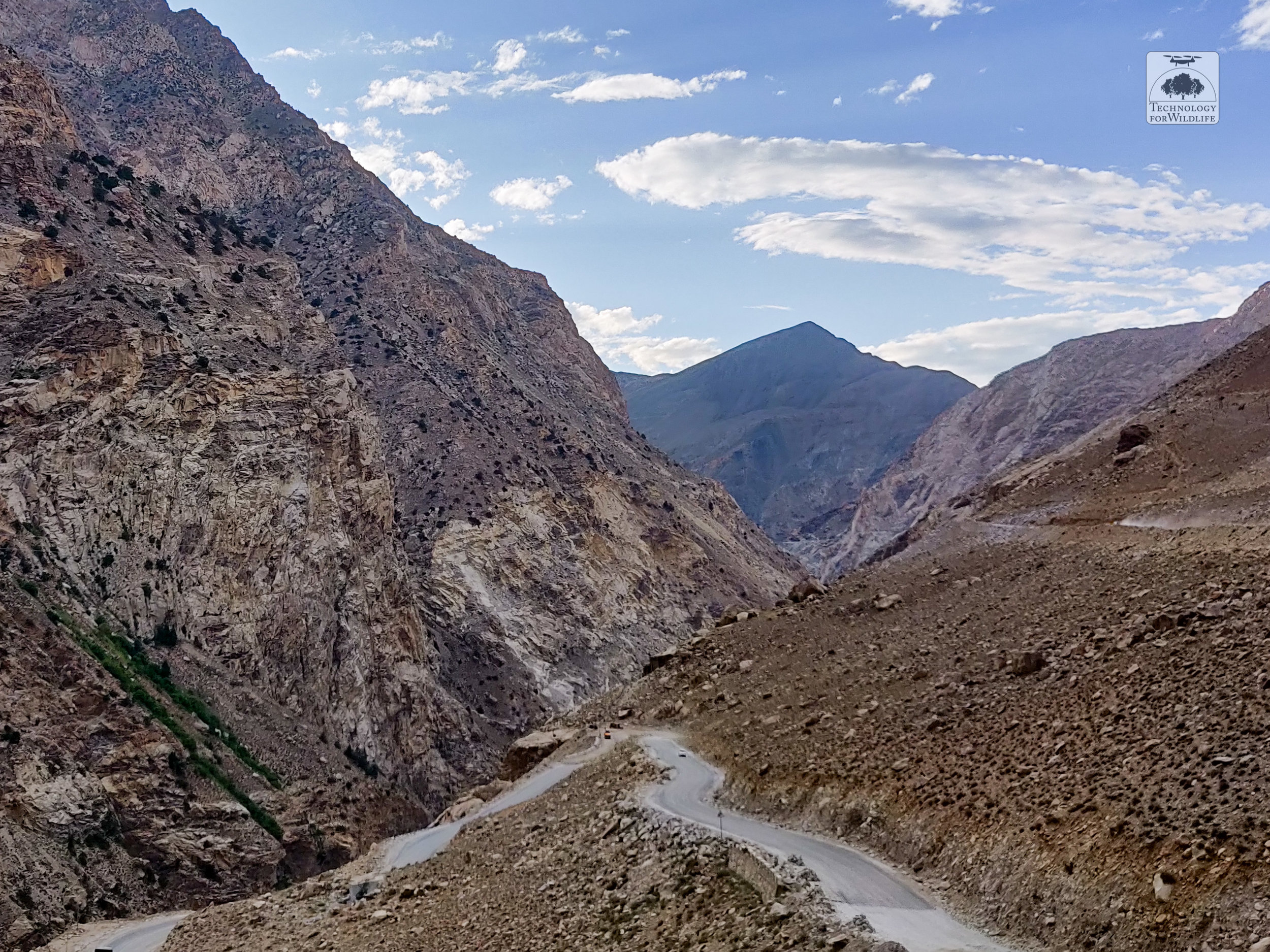 The road connecting Kinnaur to Spiti. Photograph: Shashank Srinivasan | 2019