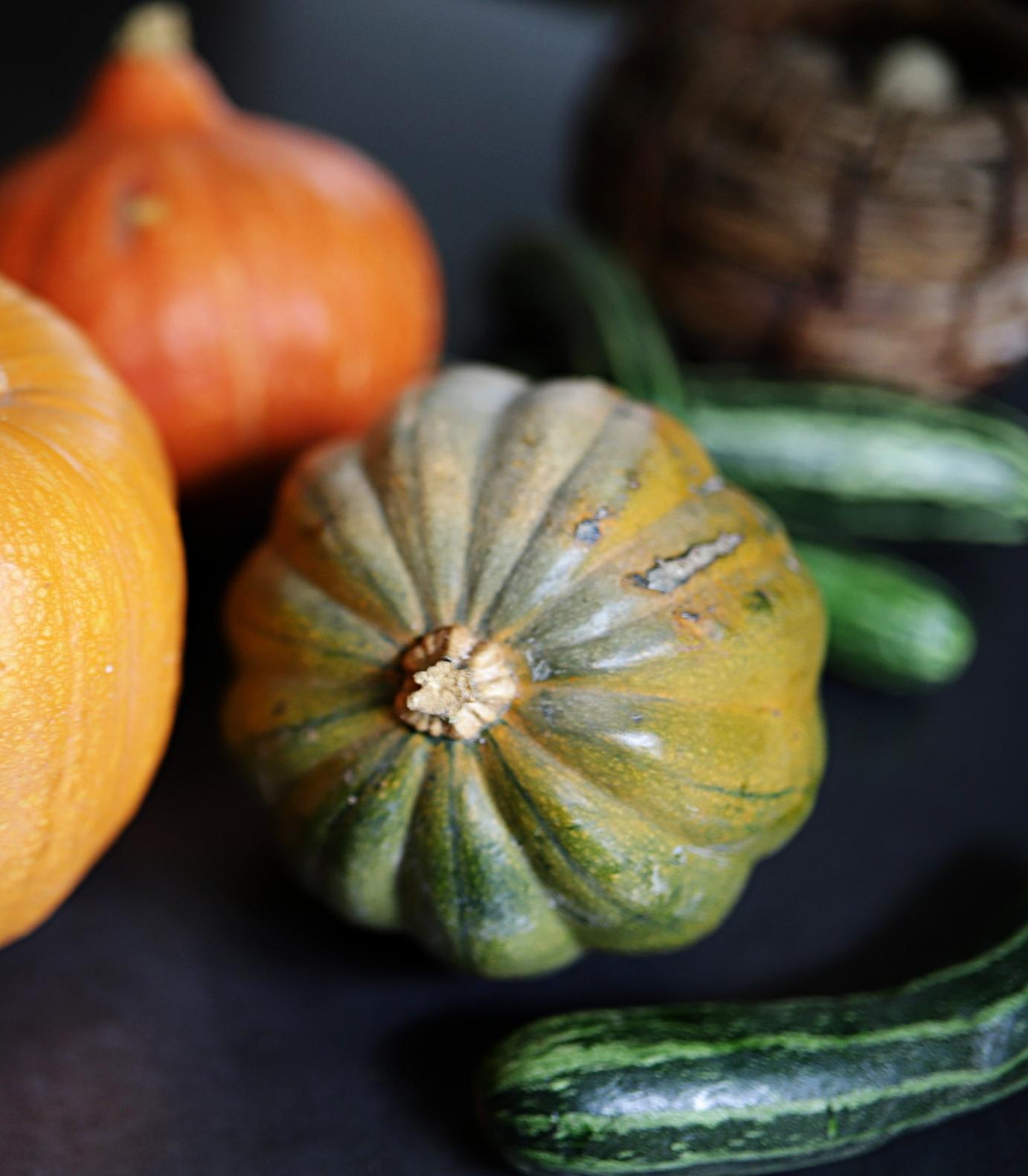 Acorn Squash and Zucchini