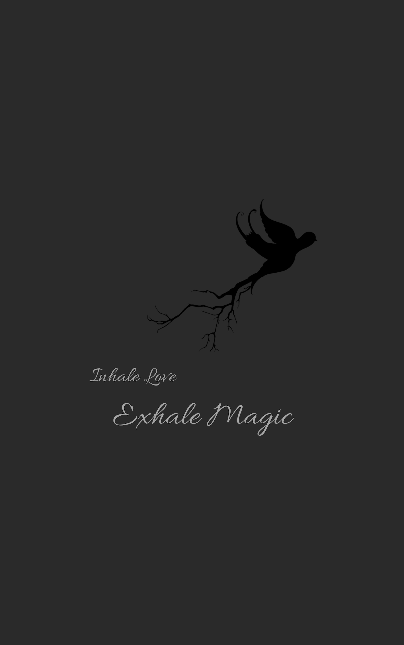 Inhale Love Exhale Magic, By Hillary Wen