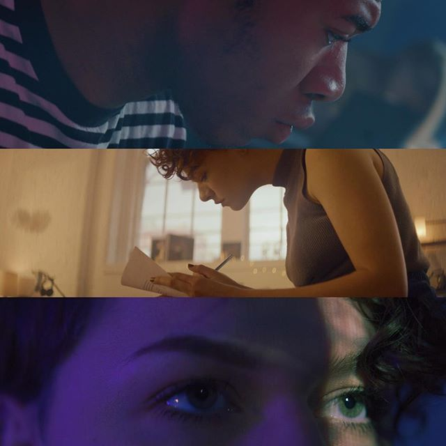 More frames from the @themodernedu shoot.  Produced by @southernskyfilms and directed by Rachel Mosher.  #cinematography #directorofphotography #framegrab #framez #vibes #commercial #themoderncollegeofdesign #kowaanamorphic