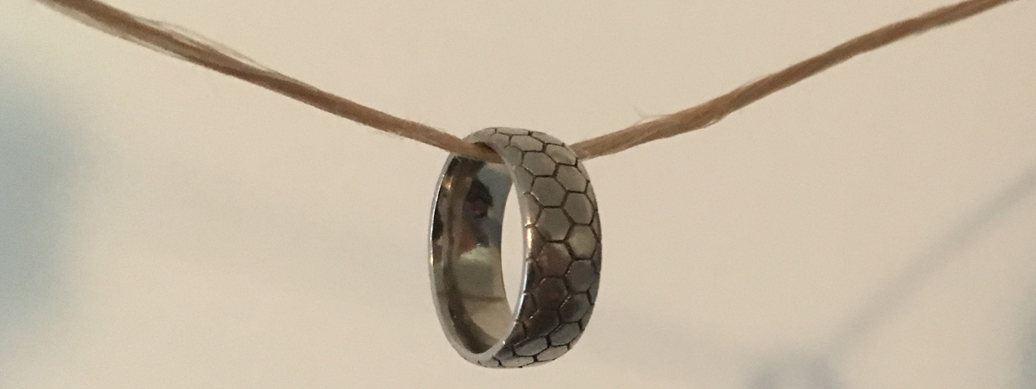 The mechanical bond is an entanglement in space between component parts that are not otherwise bonded. One example of a system with a mechanical bond is a bead on a string. We thread extremely tiny beads onto extremely tiny strings to create nanomaterials and micromaterials with unusual and potentially functional properties.