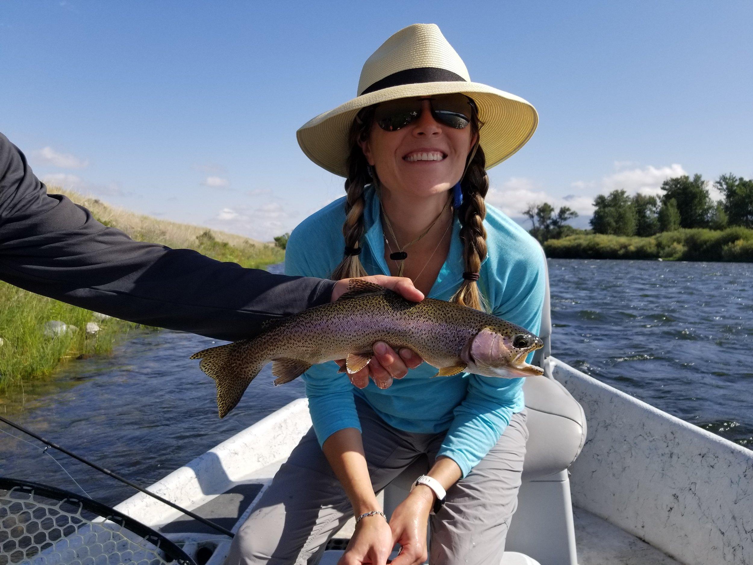 Fishing The Madison River Kate Spadarotto