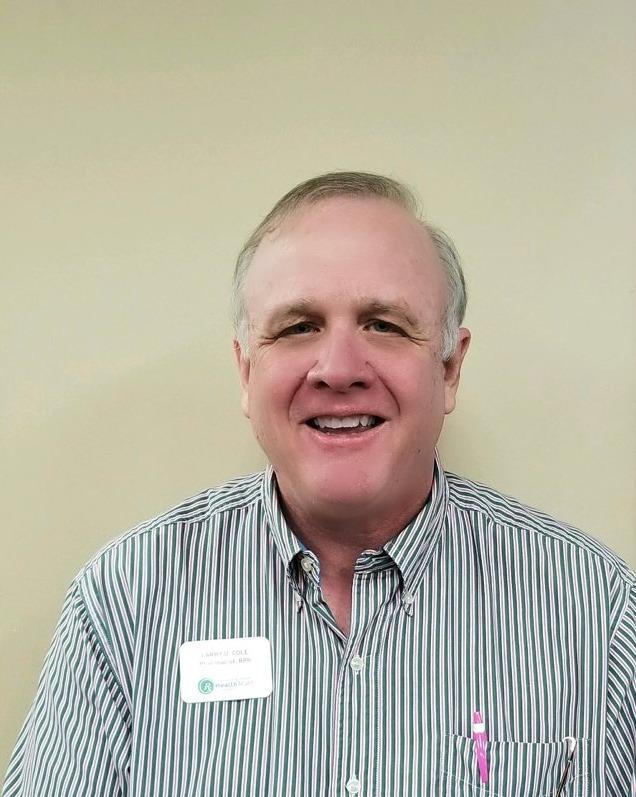 Larry Cole , Pharmacist