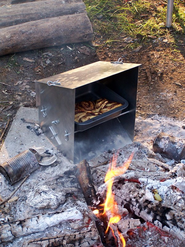 Campfire Reflector Oven Old Scout Outdoor Products