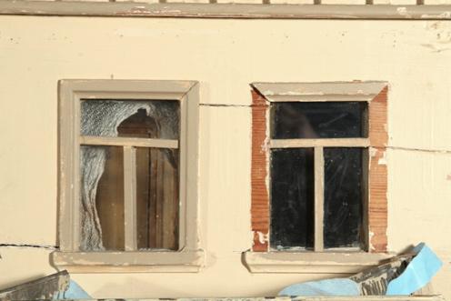 Photo:  Detail before restoration