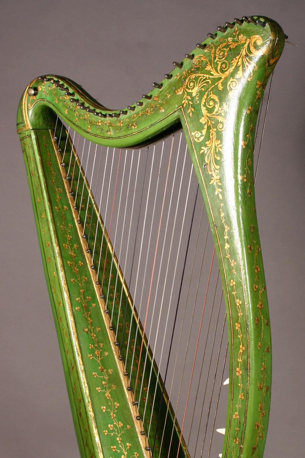 Historic John Egan harp