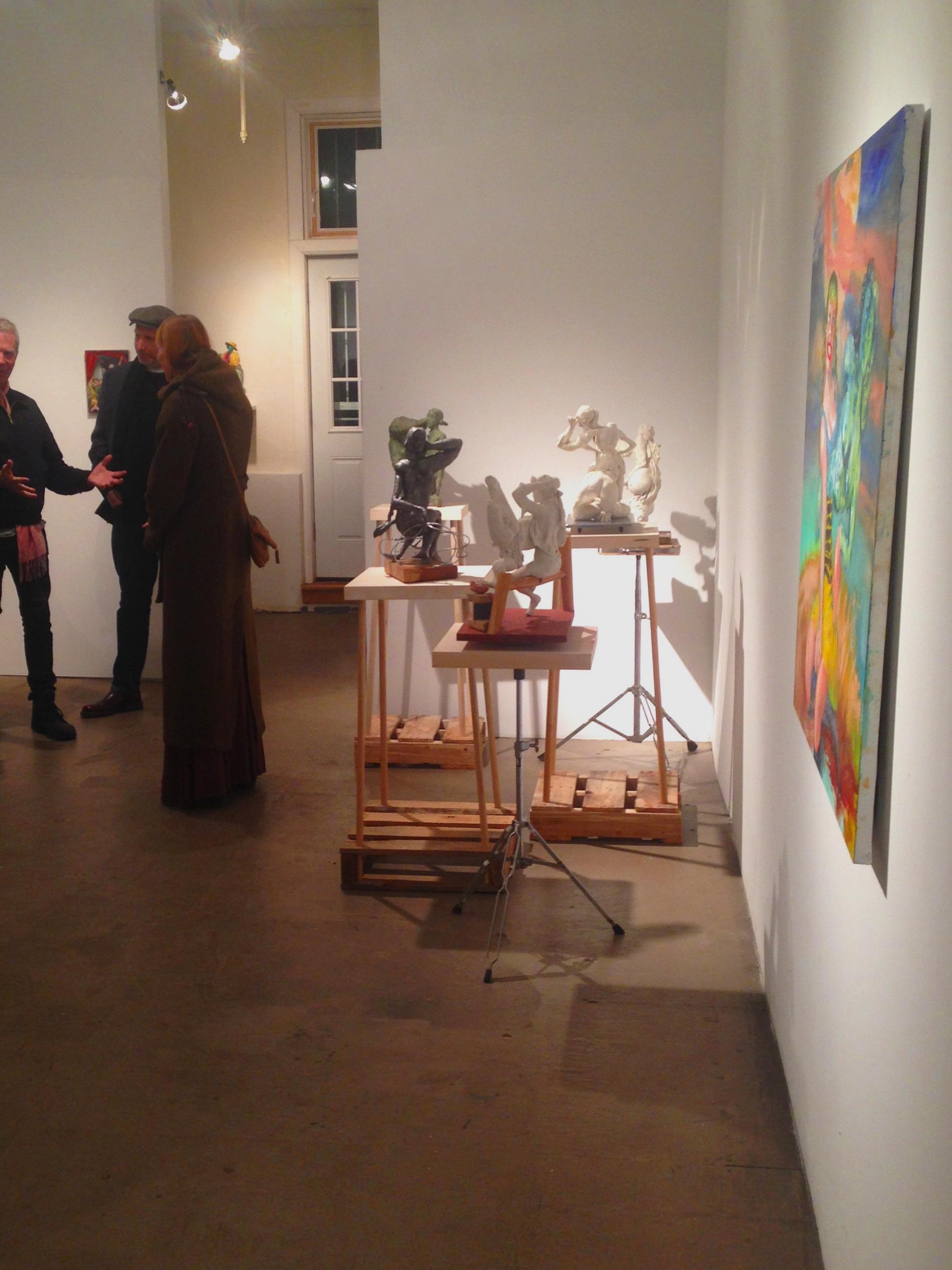 installation Fred Valentine Gallery Ridgewood NY