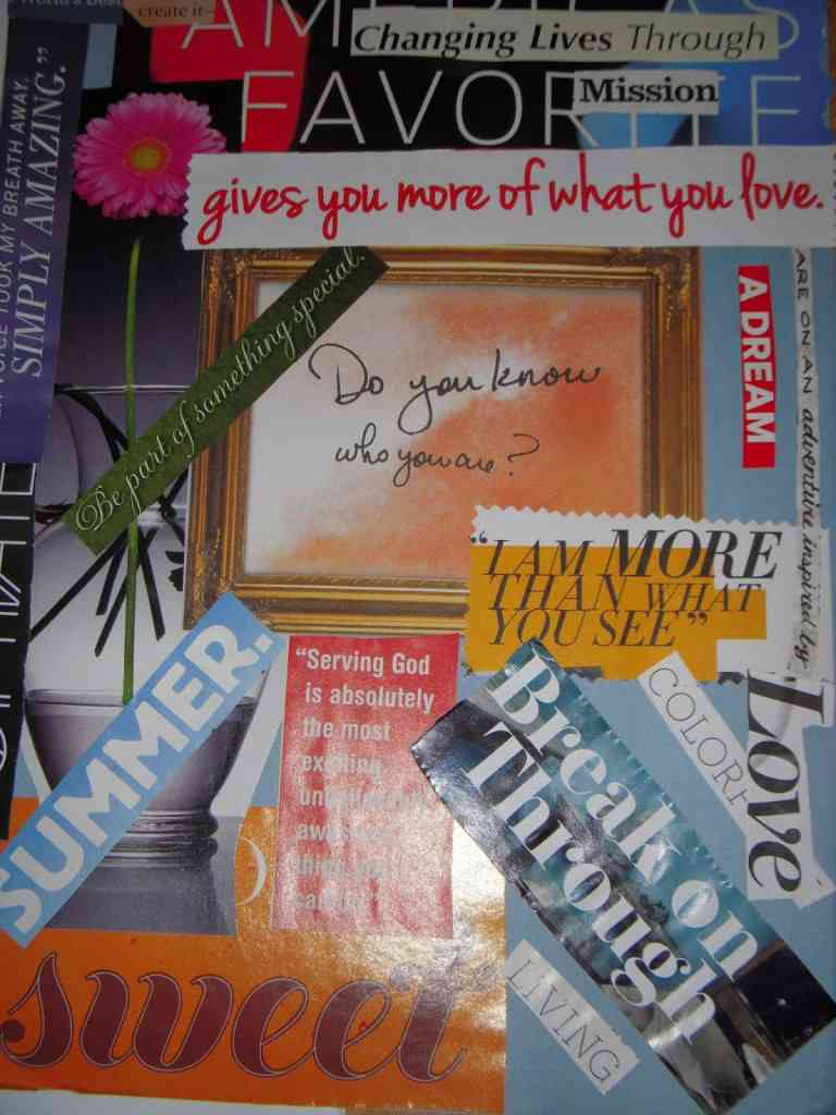 Here is a sample of the love that was poured out that day! A collage that shows how much the woman at Art for the Heart value each other and how willing they are to build each other up!