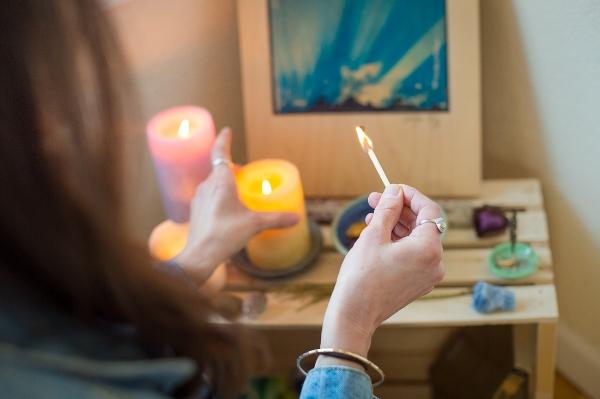 Lighting the Altar in My Home Studio