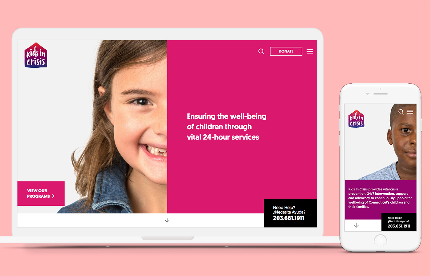 Kids in Crisis / 2017 / UX&UI - How to Save Kids with Design