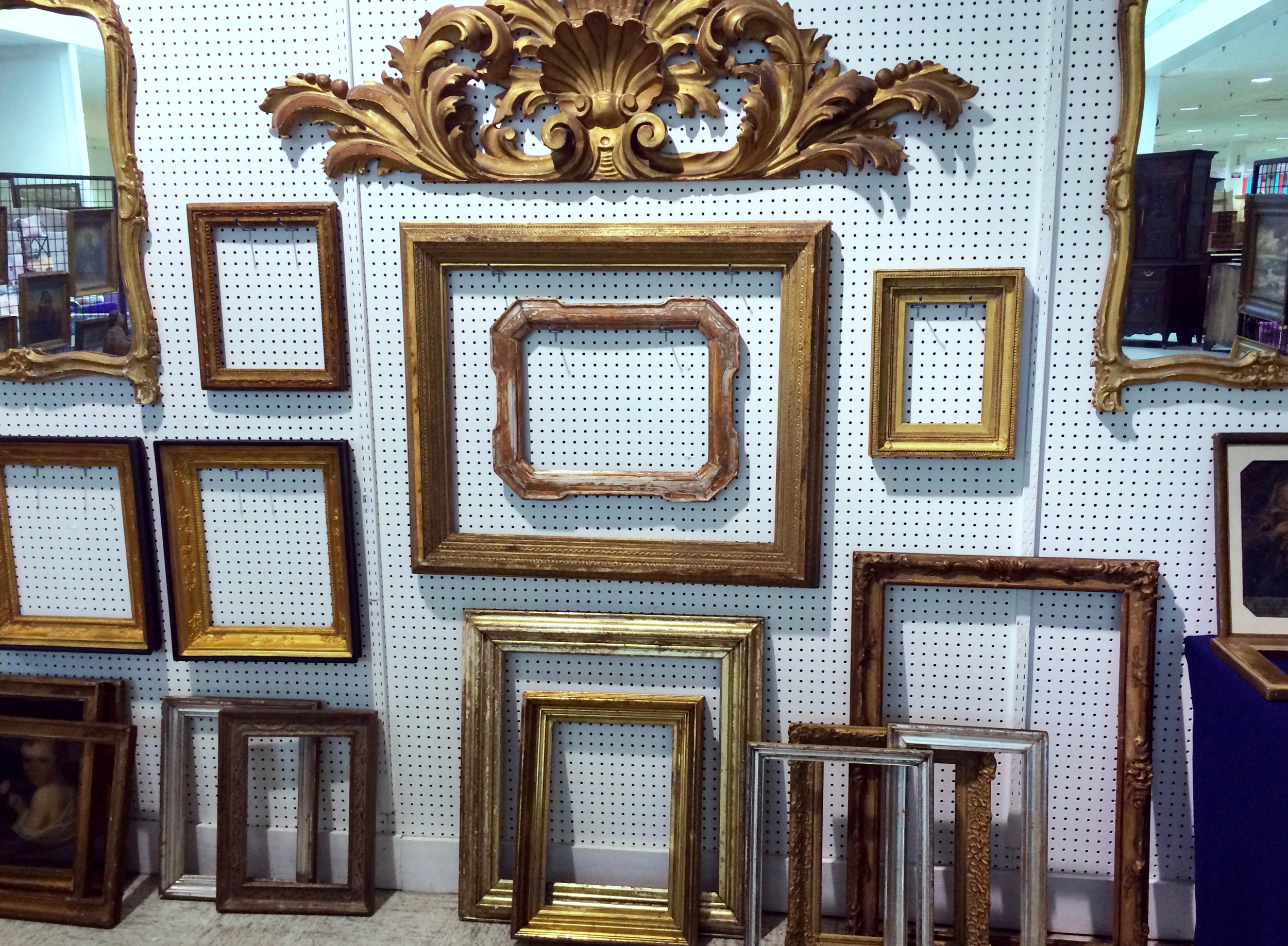 BOYD ANTIQUES   Boyd Antiques has specialized in antique frames and quality framing, fine art and period Continental furniture and decorations since the early 1990s. Boyd Antiques joined The Summit Antiques Center in 2017, and features antique Continental and American frames and framing from the 17th century to Modernist and Contemporary styles. By appointment. E-mail bantq@comcast.net. Call (973) 220-1079.