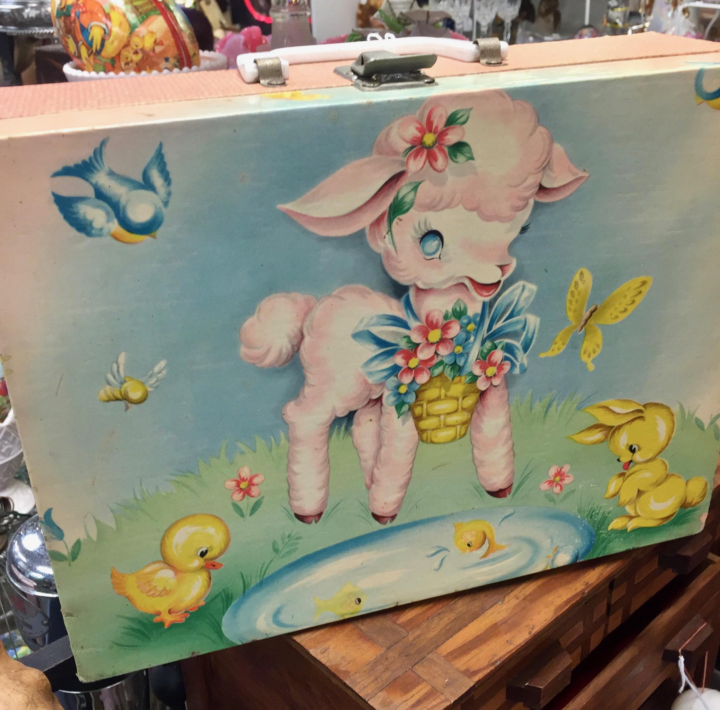 Vintage Children's Suitcase