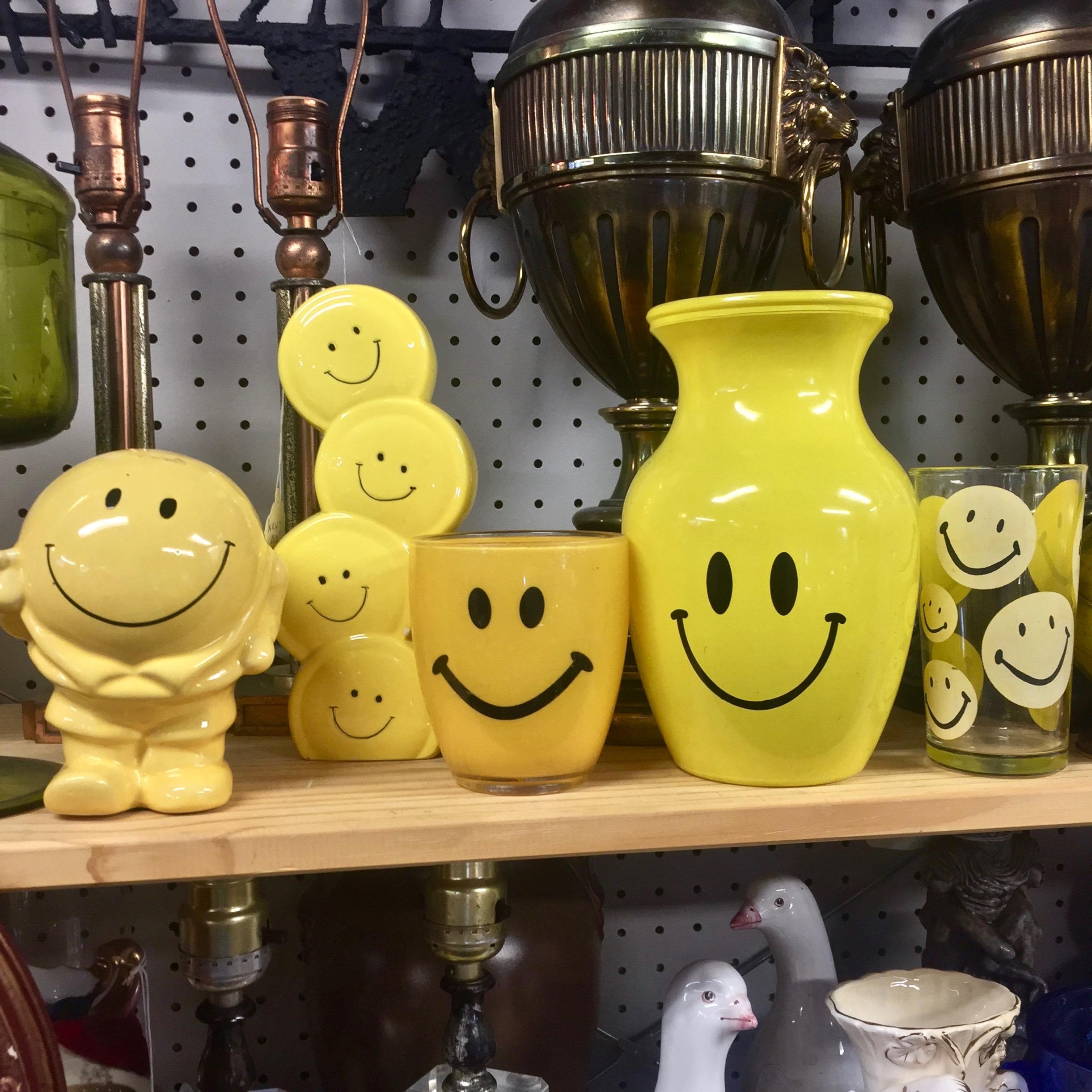 Vintage Smiley Faces