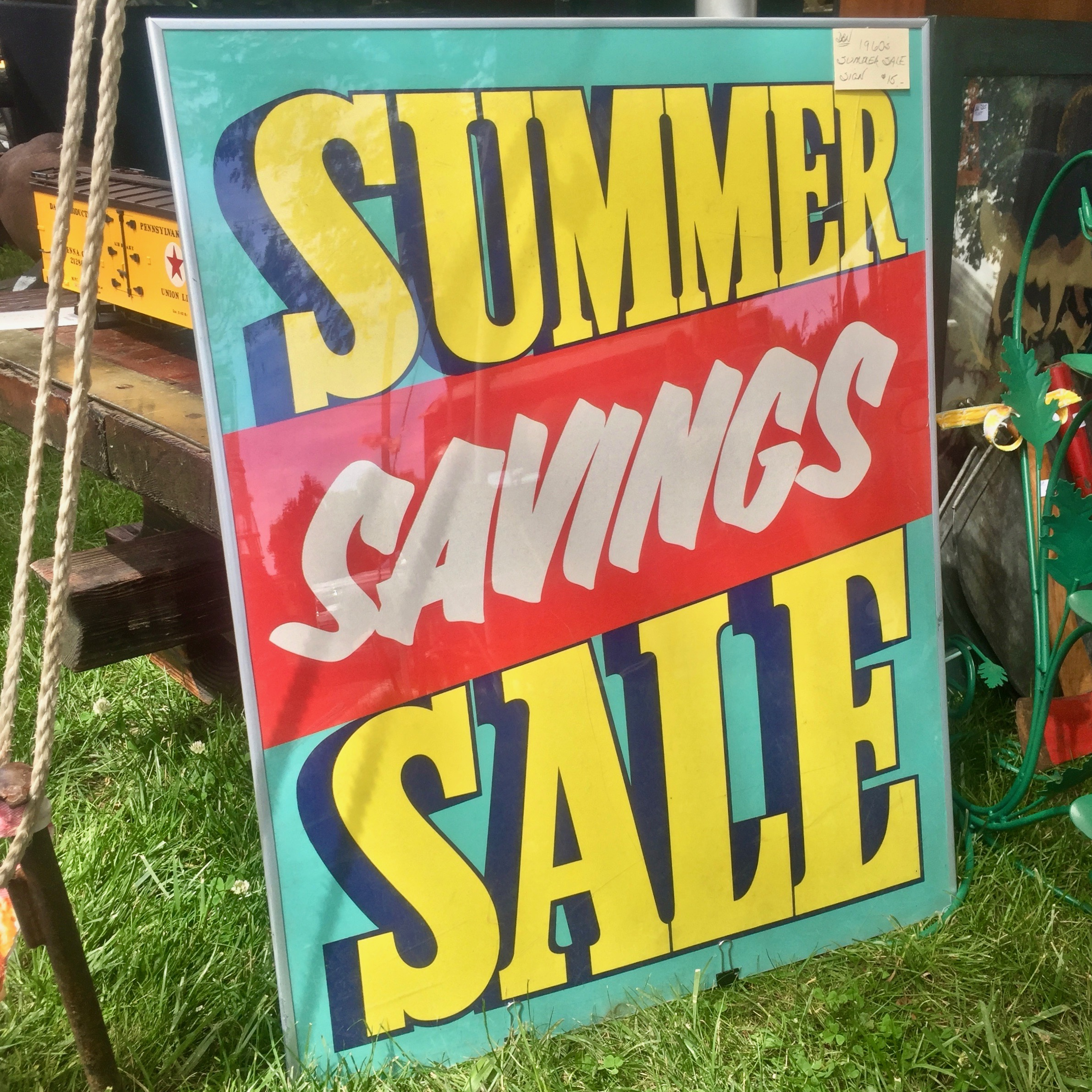 Vintage Summer Sale Sign