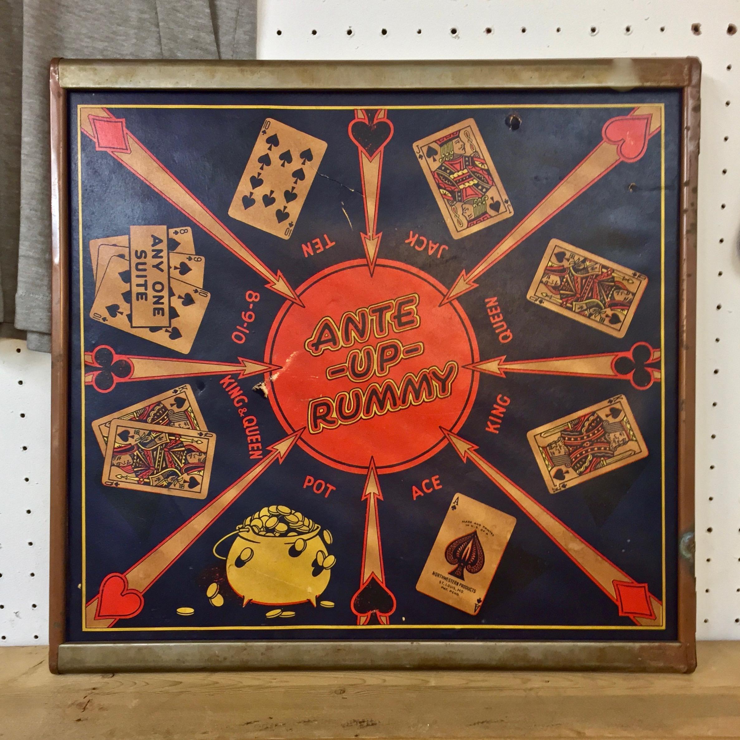 Vintage Rummy Board Game