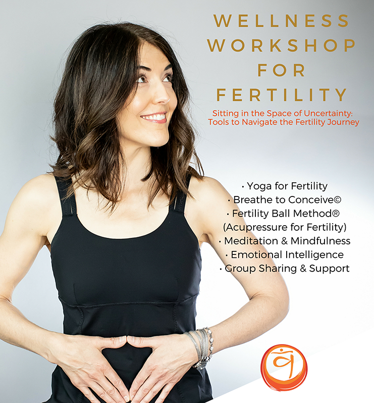 Wellness Workshops for Fertility - Every 3rd Saturday of each month* from 2:30-4:30 pmThese workshops will interweave all elements, concepts and practices that are integral to finding ease in the space of uncertainty, and optimizing your fertility. Each workshop starts with Group Sharing & Support and then we include a mixture of:• Fertility Yoga• Breathe to Conceive©• Fertility Ball Method® (Self-Acupressure for Fertility)• Meditation & Mindfulness• Emotional Intelligence • Discussions on Environmental Toxins and improving lifestyle+ other Gems of WisdomWendy Obstler (Certified Yoga Therapist, Fertility Expert) and Deborah Anderson (Health Psychologist/Neuropsychologist, Fertility Expert) have been studying and teaching this work for over a decade, and have also experienced their own fertility challenges. Pre-registration required: https://livinglela.com/classes/monthly-workshops-support-groups/#sign-upFor the months of April and July the workshop will be the 4th Saturday of the month, April 27 and July 27.