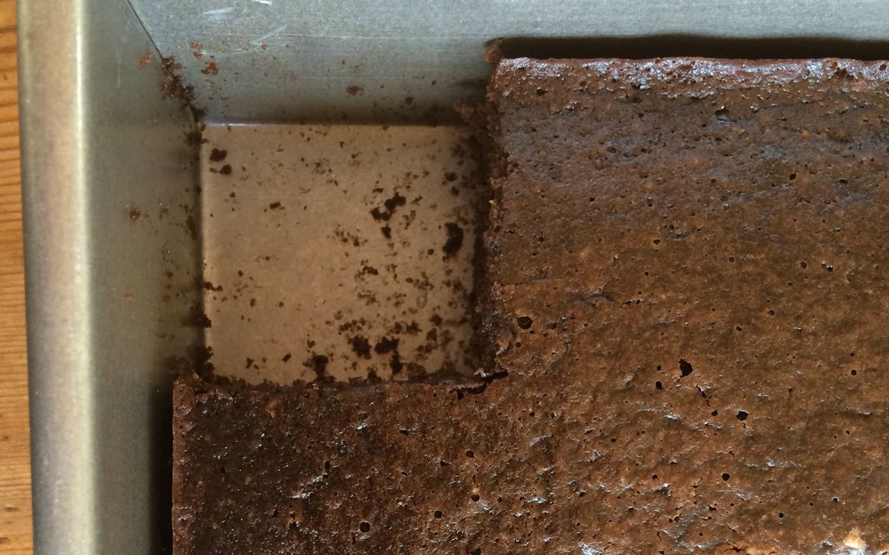 chocolate cake: gluten free and healthy enough for breakfast/from A Raisin & A Porpoise