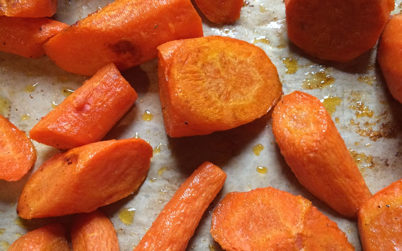 roasted carrots update their status to 'salad' | a raisin & a porpoise