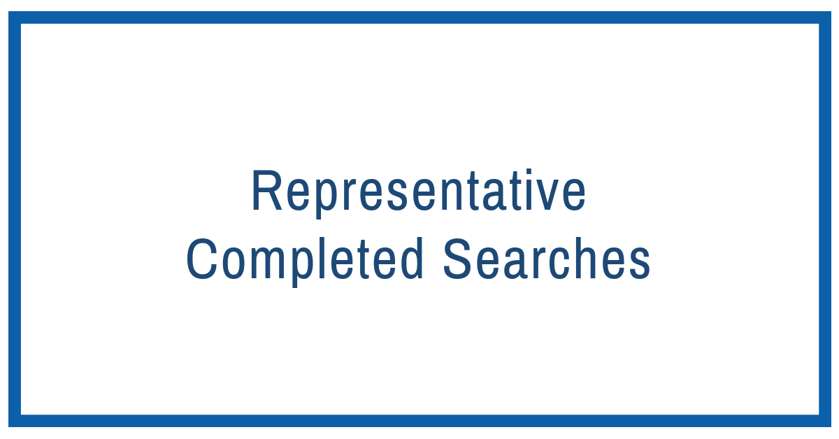 recently completed searches.png