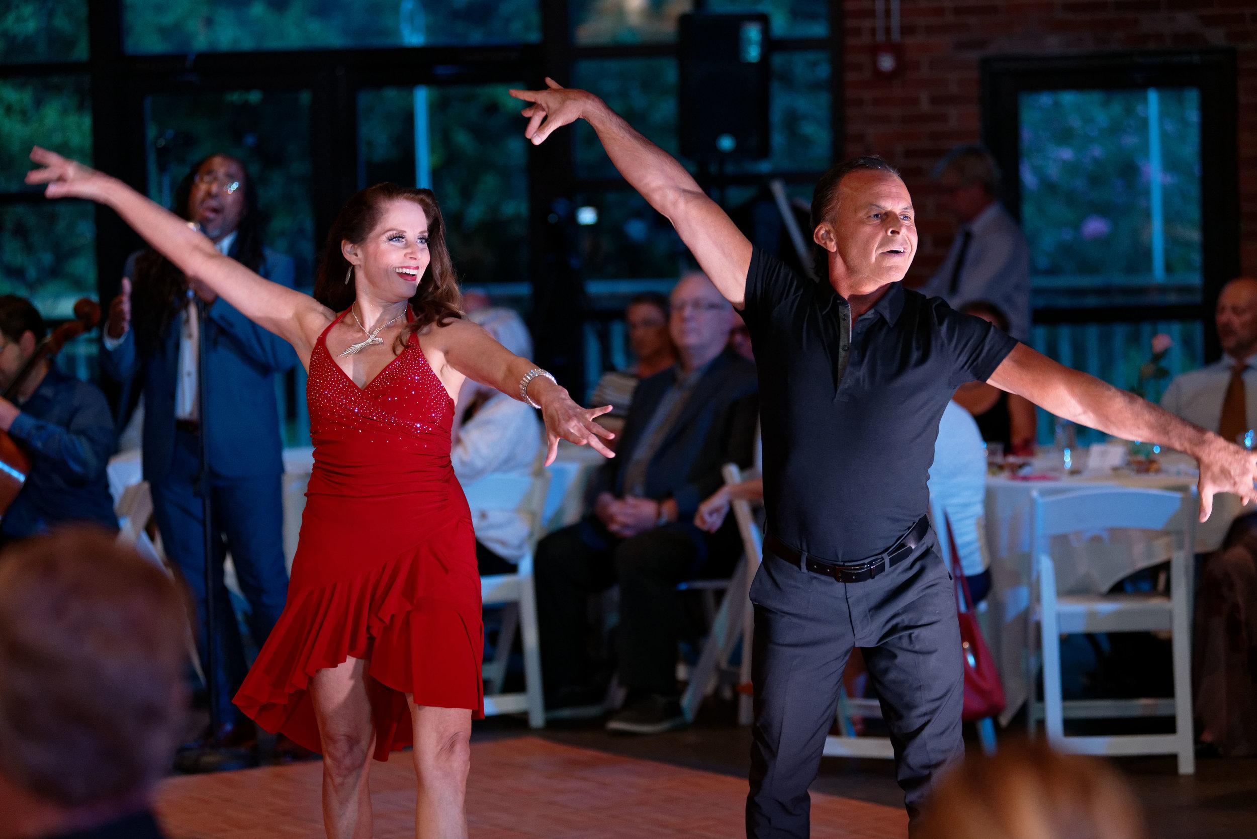CHARLENE RACKLEY AND JOHNNY COCKERELL, dance