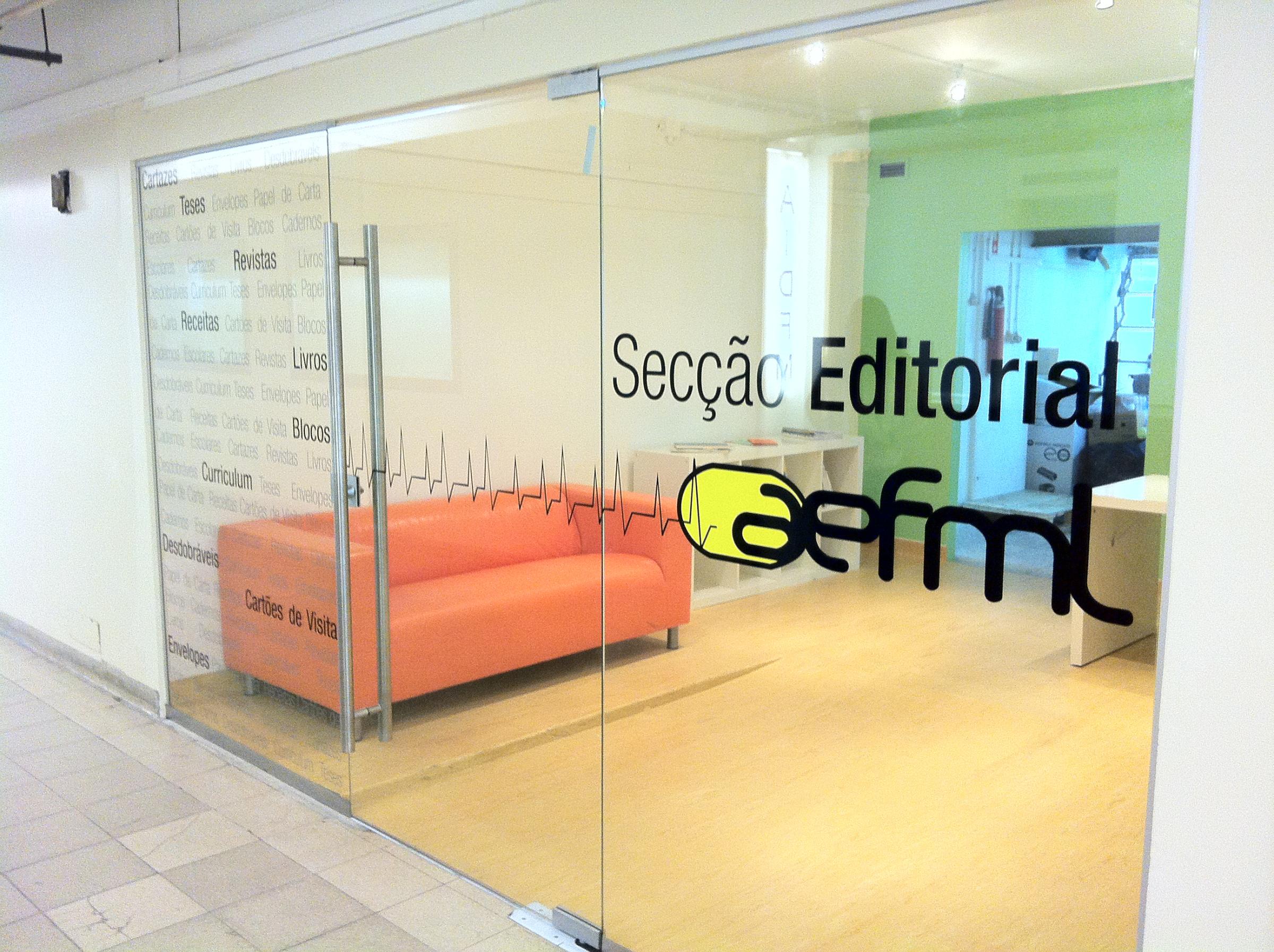 Secção editorial da AEFML