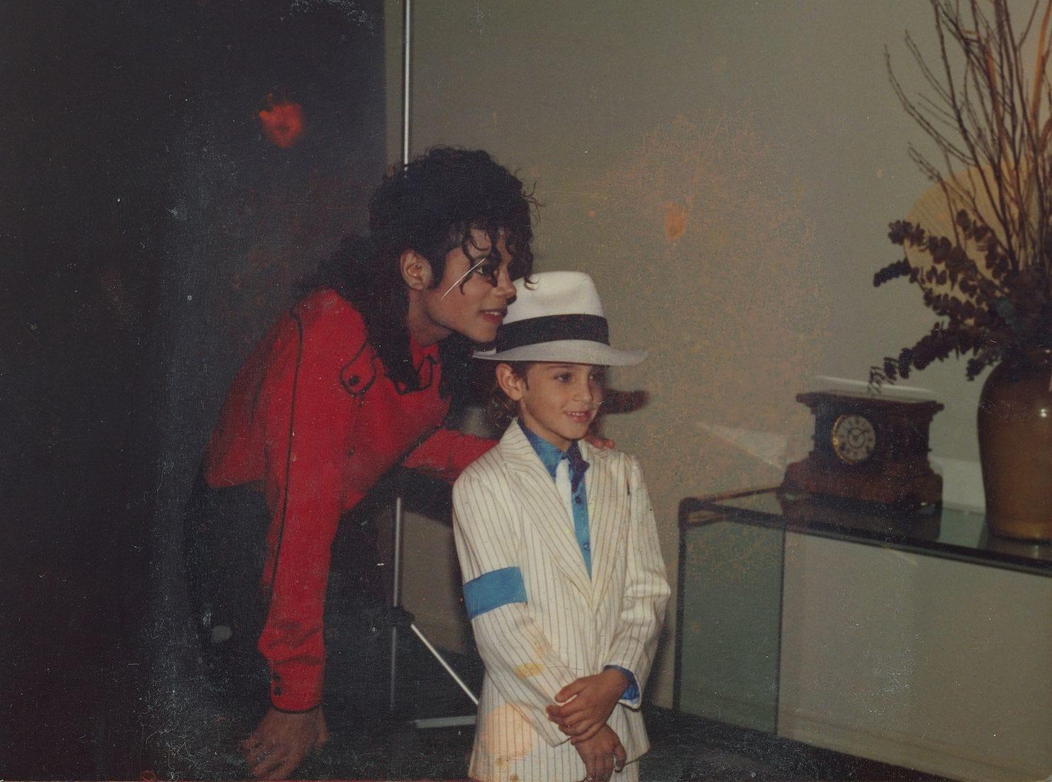 Michael Jackson e Wade Robson ©HBO
