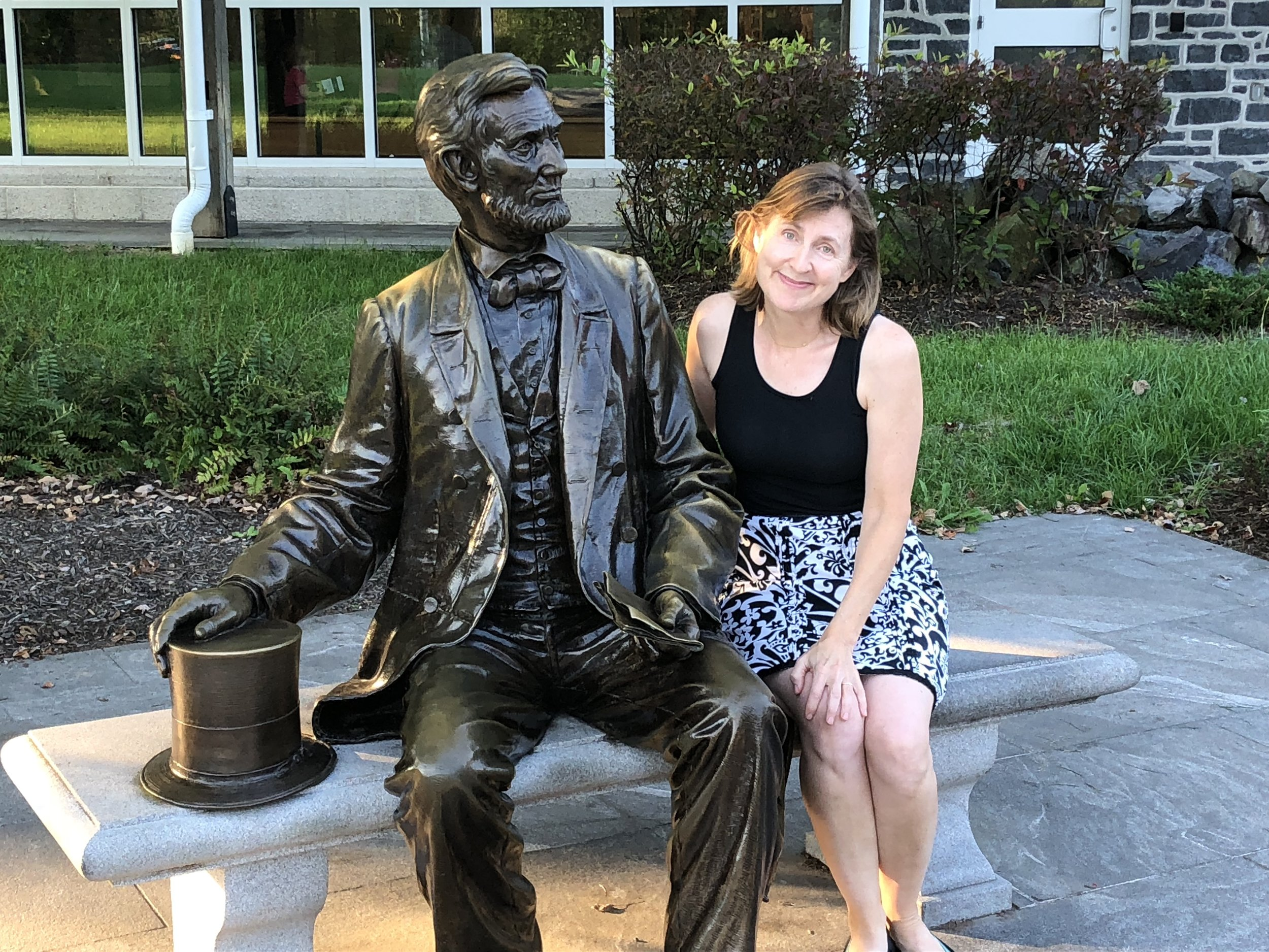 We moved on to Gettysburg, Pennsylvania where Kay got chummy with this fellow.
