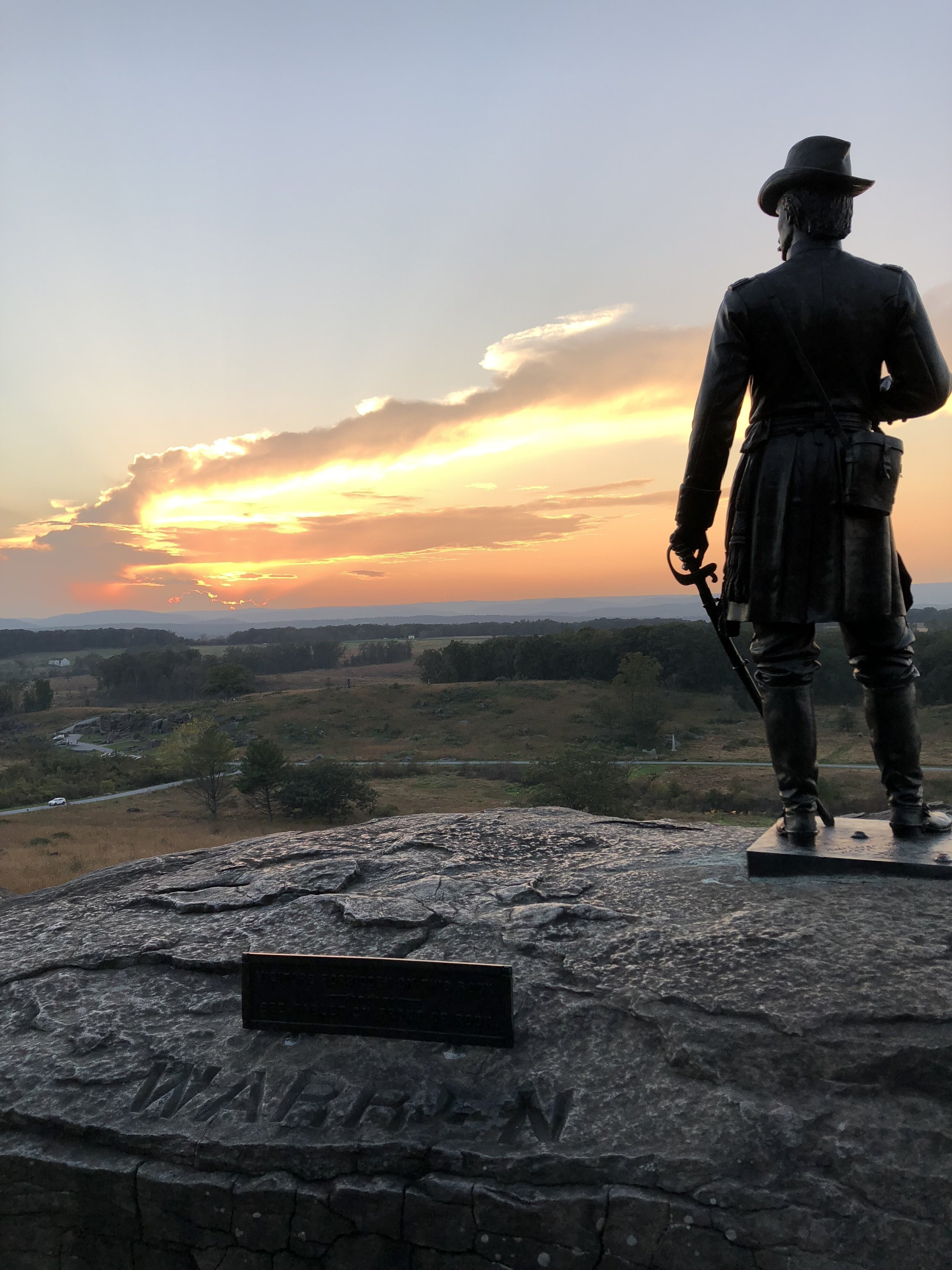 I don't know if I just don't have high testosterone levels or what, but I've never been much of a war history buff. I've always preferred the personalities and issues of the day than tales of strategy and slaughter. Nonetheless, Gettysburg is impressive and sobering.