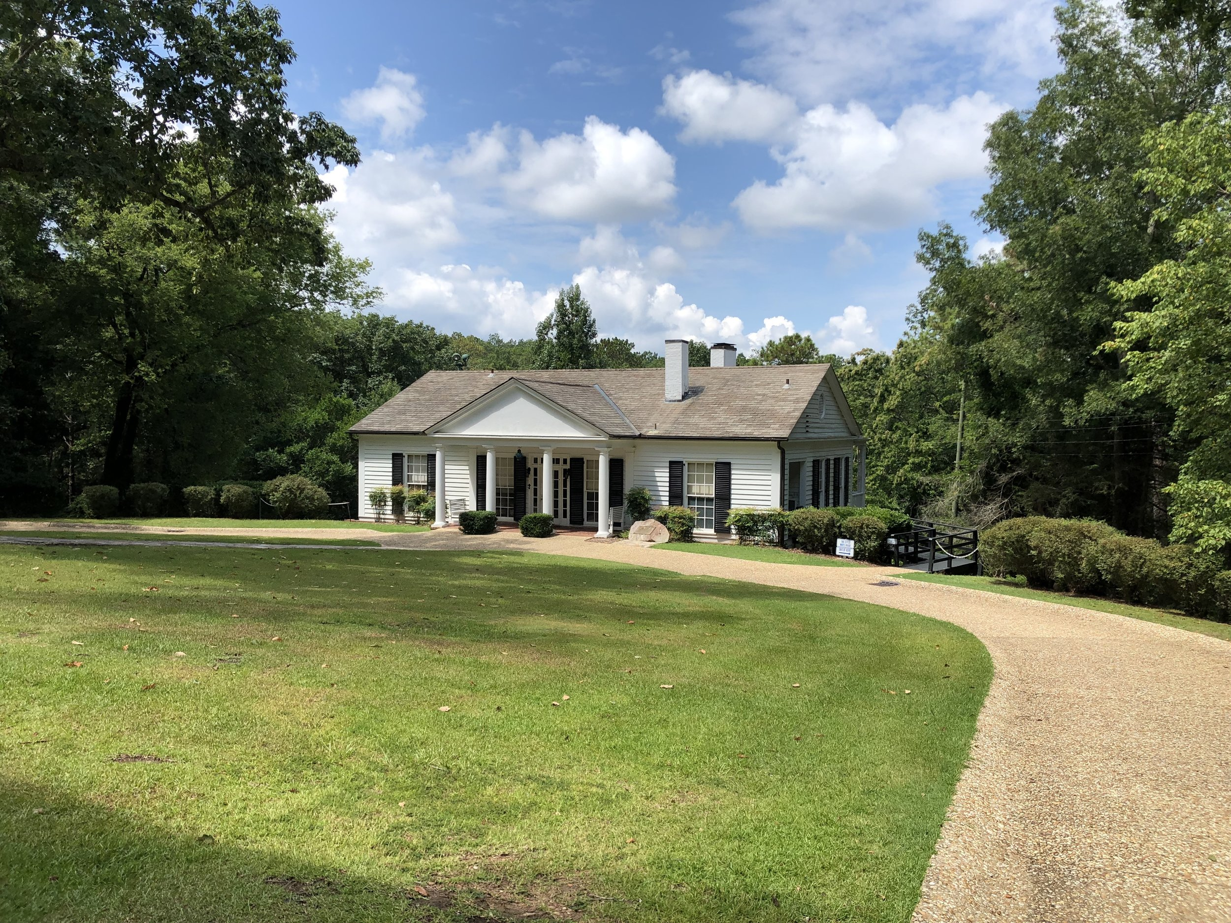"FDR's ""Little White House"" in Warm Springs, Georgia. He first started going here to ""take the baths"" on the theory that it might help him with his polio induced paralysis."